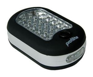 Obrázek Svítilna 24+3 LED ruční SOAP