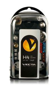 Obrázek Box žárovek UNI 12V/H4 VECTA