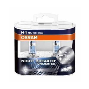 Obrázek Žárovka OSRAM H4 12V 60/55W NIGHT BREAKER box 2ks